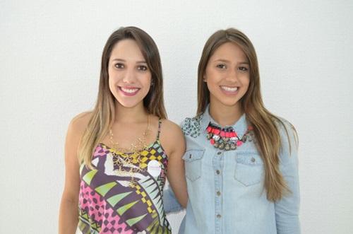 e48c5ce73 Camila Santos e Lara Ribeiro em recente inauguração de clínica de estética  (Foto: divulgação)