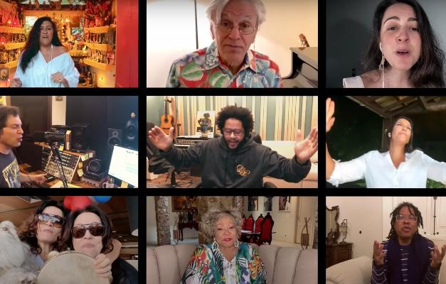 Amigos de Gilberto Gil cantam em clipe de aniversário de 78 anos ...