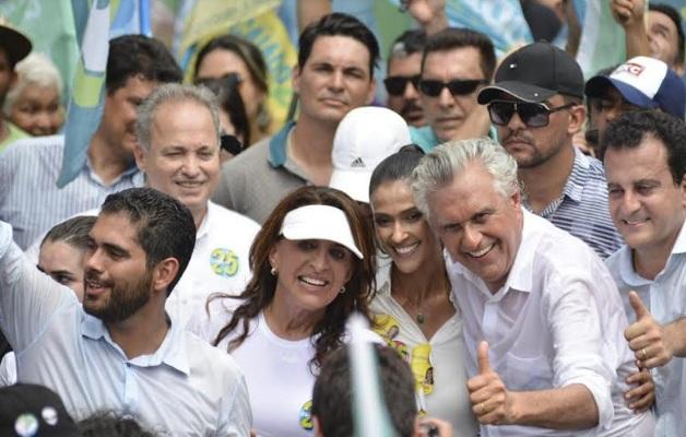 Caiado encerra em Goiânia e Trindade as atividades de campanha