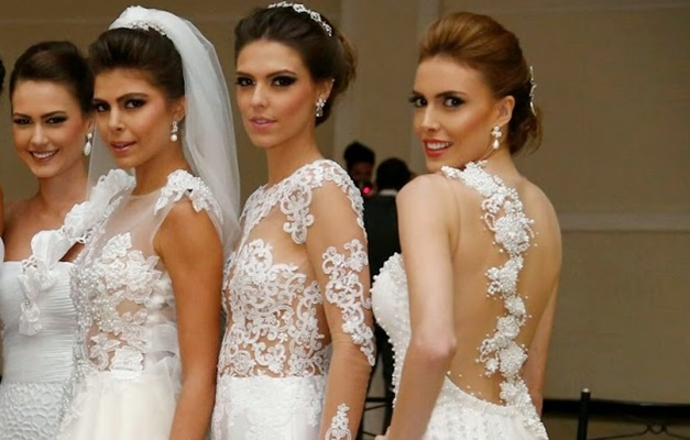 55841c5b1041 Estilista goiano promove bazar com vestidos de noiva a partir de R$400