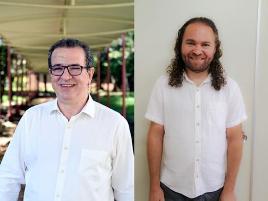 Professores Jesiel e Adriano (Foto: divulgação)
